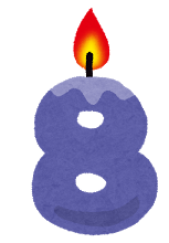 candle_number8