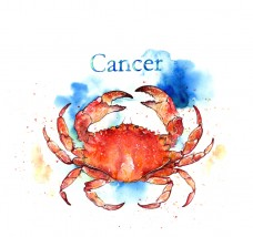 cancer crab ed text bg small