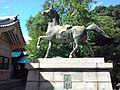 120px-Omiwa_Shrine_-_Statue_of_horse