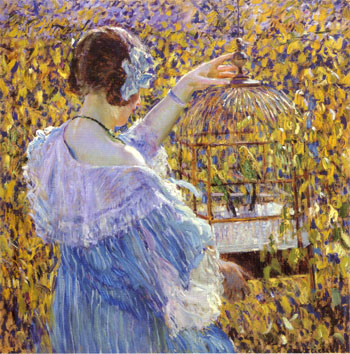 Frederick-Carl-Frieseke-The-Bird-Cage-1910-large-1154230646