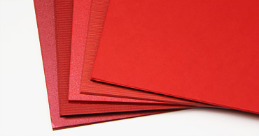 red-cardstock