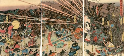 島根県・出雲大社の神在月の「八百万の神様の会議中」