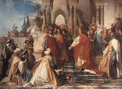 640px-Arthur_Georg_von_Ramberg_-_The_Court_of_Emperor_Frederick_II_in_Palermo_-_WGA18987