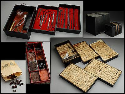 江戸時代の往診用薬箱